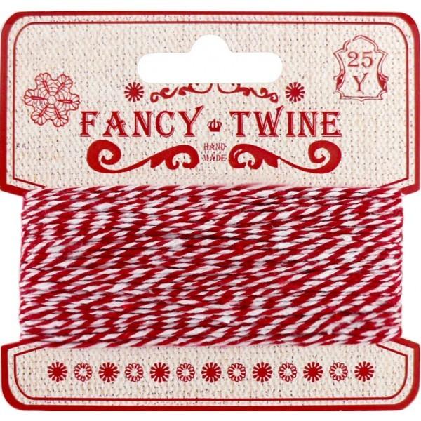 Barevný provázek na papírové špulce Fancy Twine  Heaven Sends