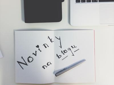 Novinky na blogu